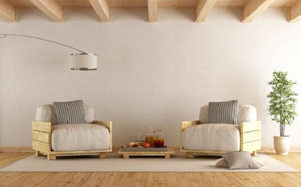 Banco de madeira pallet