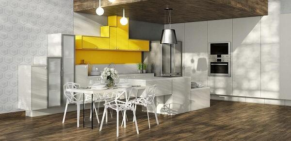 Estilo de cadeiras para cozinhas modernas