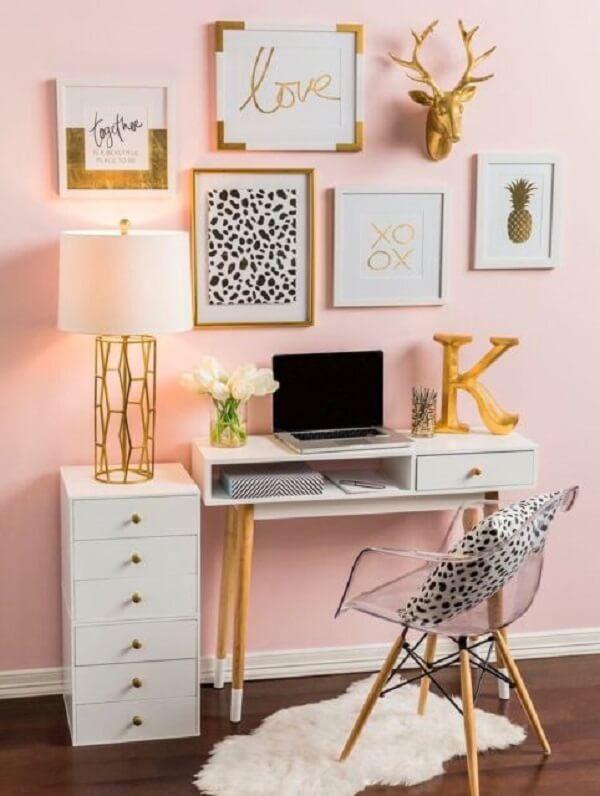 Faça uma linda composição de quadros para escritório