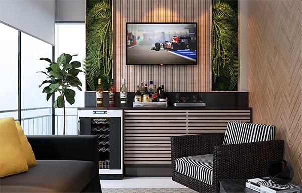 Ideias criativas para montar seu home bar na varanda do apartamento