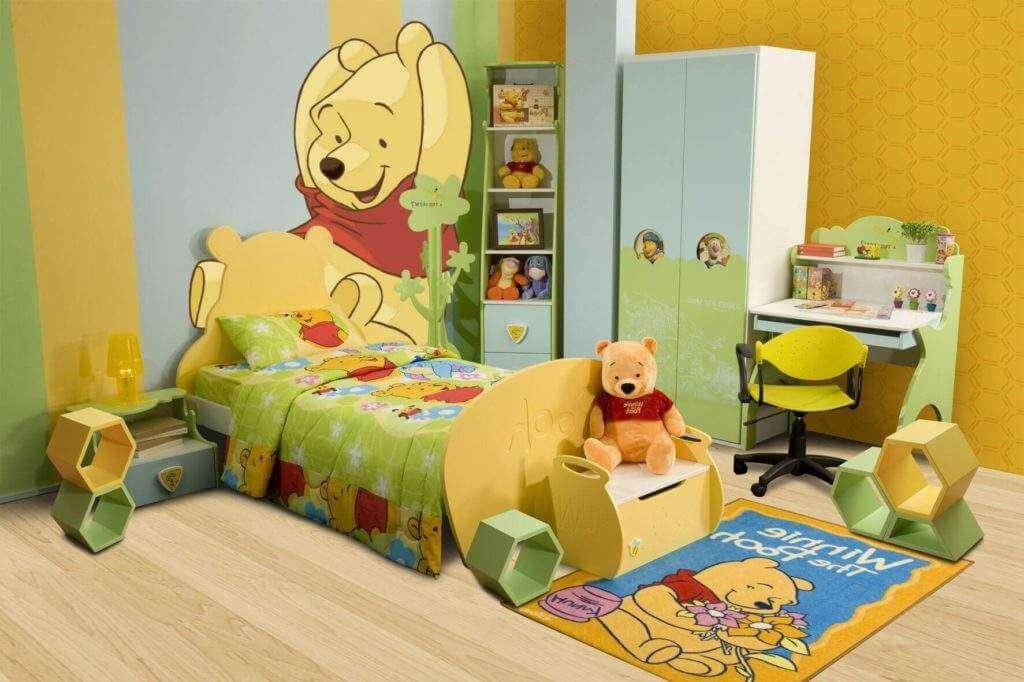 Jogo de cama infantil com desenho da Disney