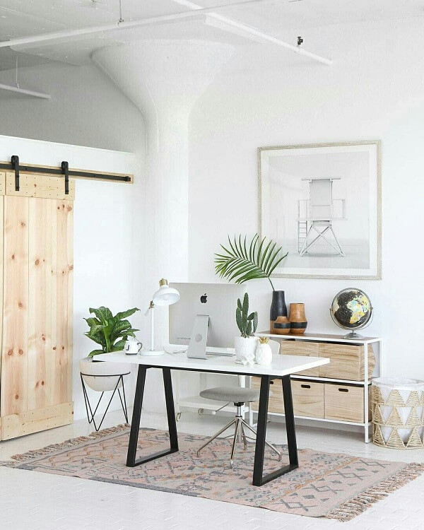 Móveis para escritório branco