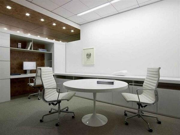 Móveis para escritório cadeira branca