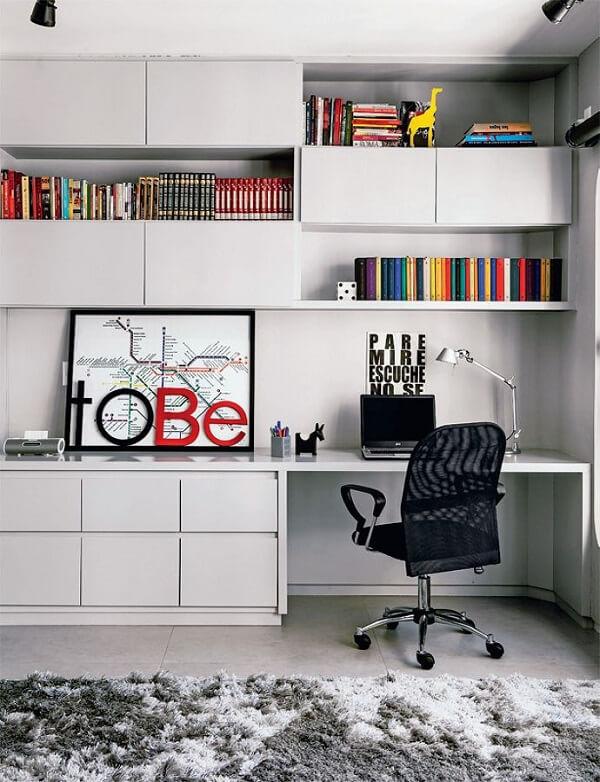 Móveis para escritório com estante armário