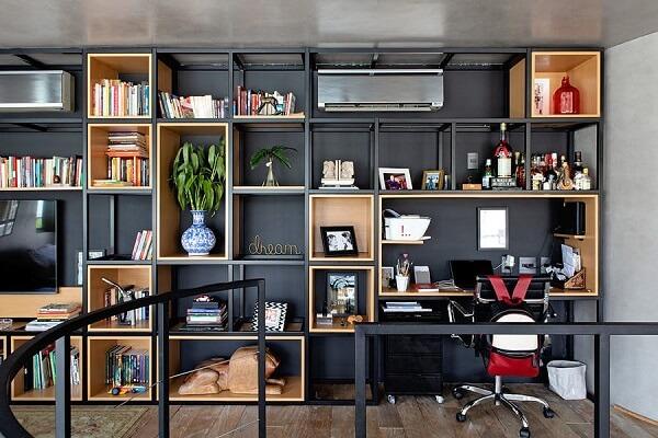 Móveis para escritório em aço