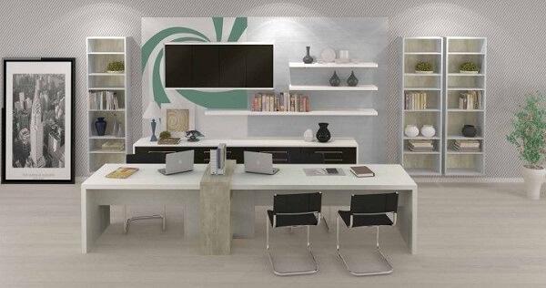 Móveis para escritório estante e armário