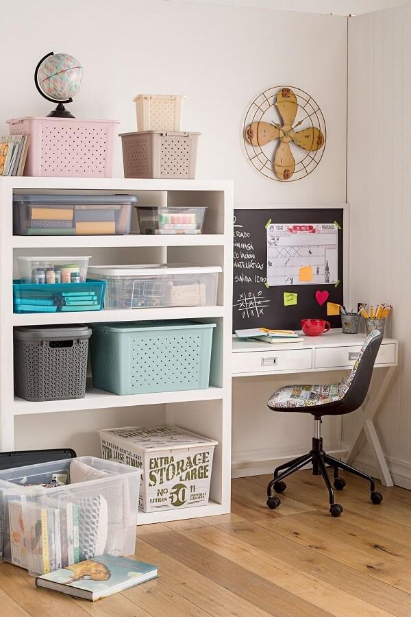 Móveis para escritório home office branco