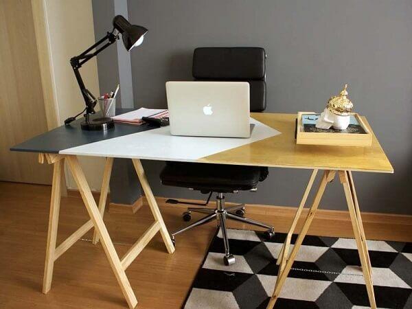 Móveis para escritório mesa cavalete