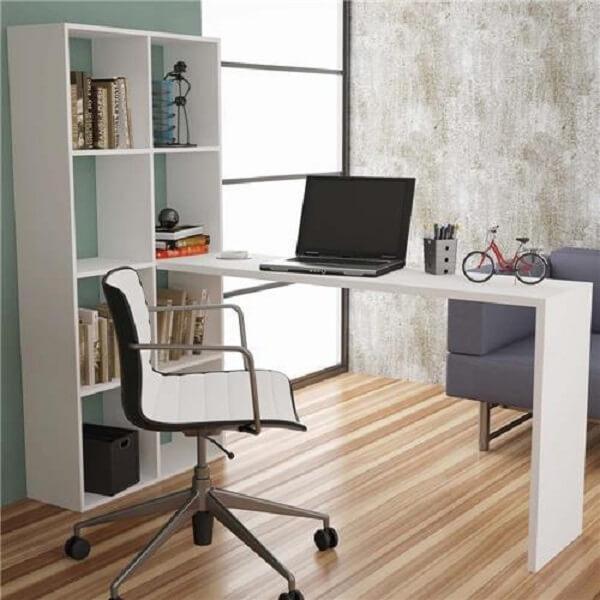 Móveis para escritório mesa e cadeira confortáveis