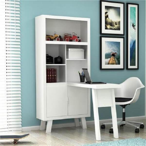 Móveis para escritório planejado com armário
