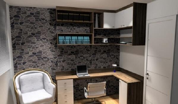 Móveis para escritório planejado home office