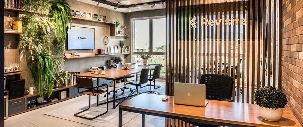Móveis para escritório de móveis em madeira