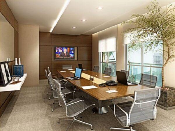 Móveis para escritório sala de reunião