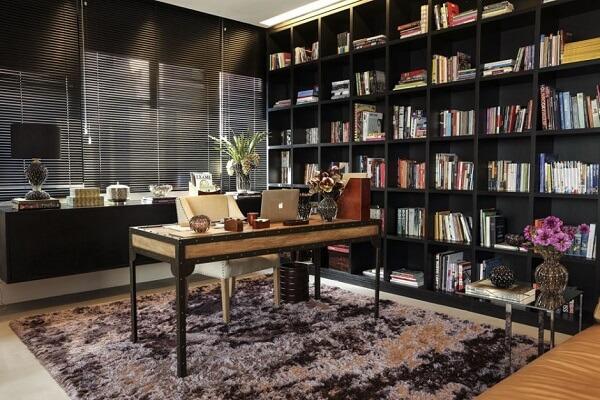 Móveis para escritório mesa estilo retrô