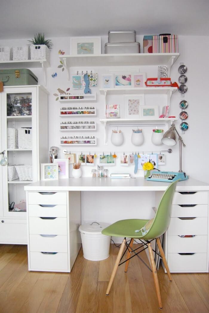O cômodo que seu filho usada pode se tornar um escritório, uma sala de leitura ou até mesmo em um ateliê