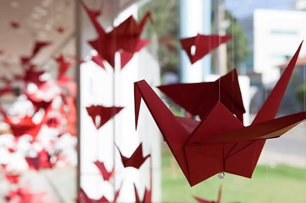 Origami fácil tsuru