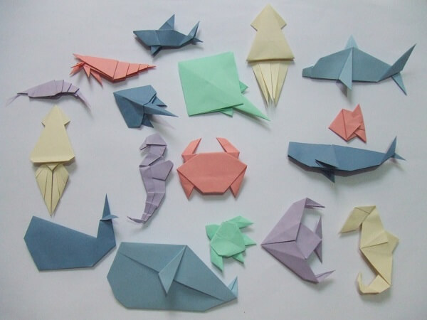 Easy origami various shapes
