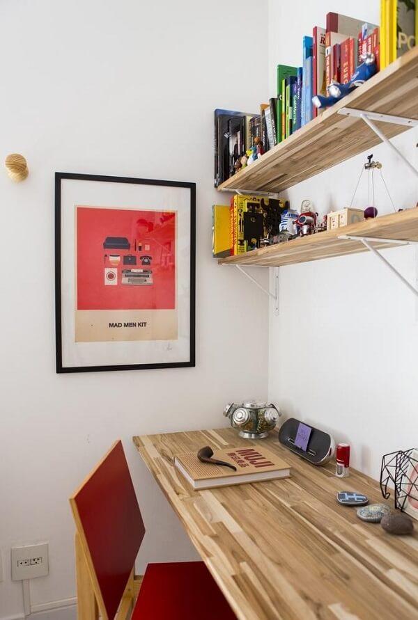 Os quadros para escritório podem ocupar uma pequena parte da parede