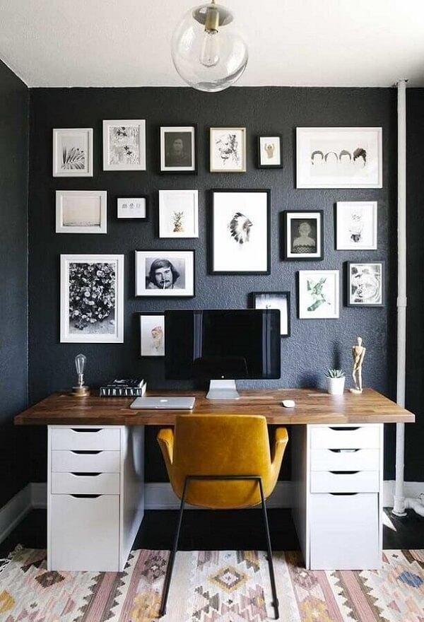 Os quadros para escritório podem ter formas e tamanhos distintos
