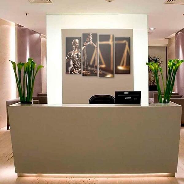 Os quadros para escritório trazem elegância ao espaço