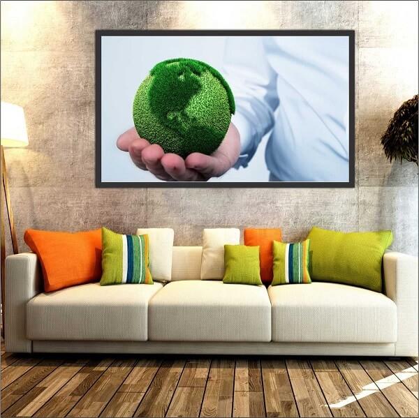 Quadro para escritório de engenharia ambiental