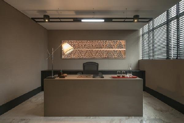 Quadros para escritório com arte abstrata