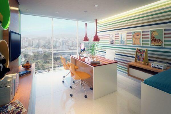 Quadros para escritório com temática infantil