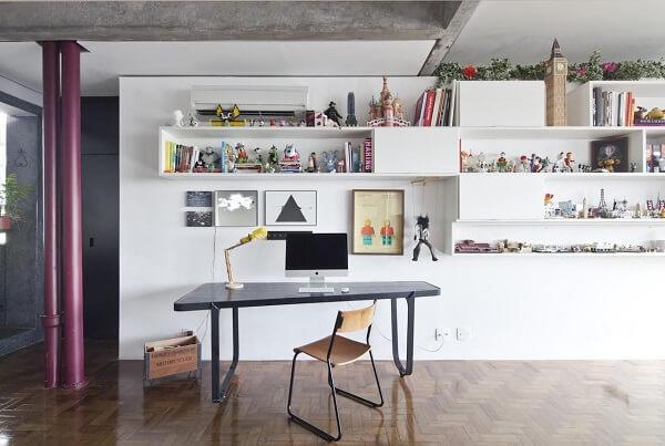 Quadros para escritório pequenos trazem descontração ao espaço