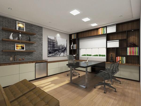 Reserve um espaço na parede para incluir um lindo quadro decorativo