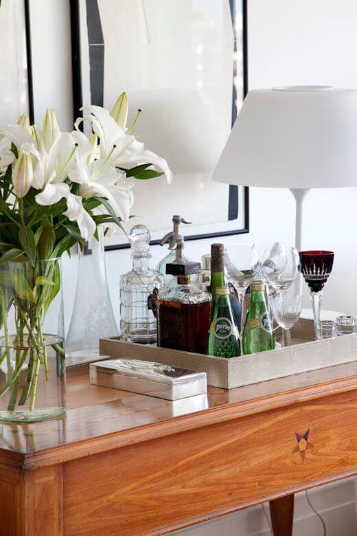 Aparador bar para sala de estar