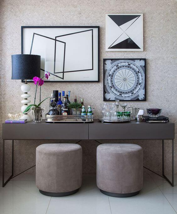 Aparador para sala moderna