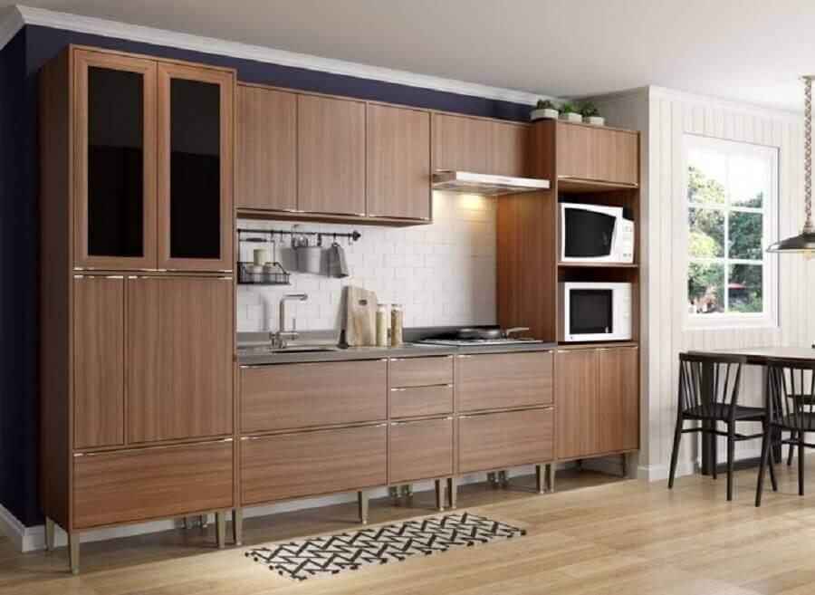 armário modulado de cozinha Foto Multimóveis