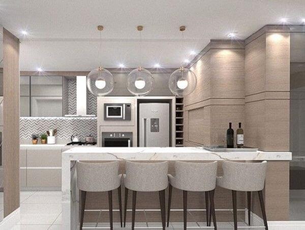 banqueta baixa para cozinha