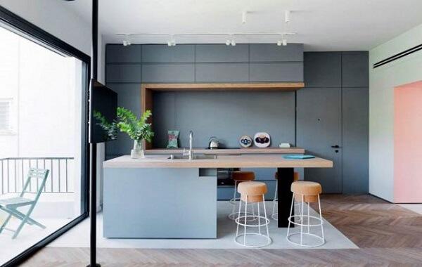 banquetas modernas para cozinha rolha
