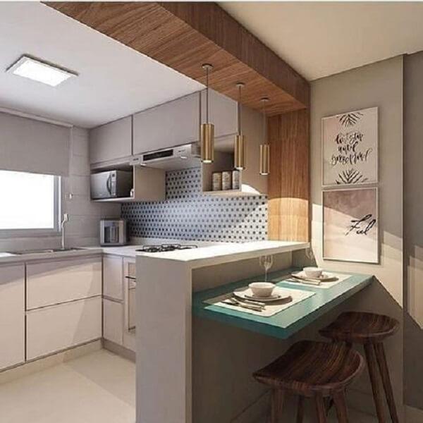 banquetas para bancada de cozinha de madeira escura