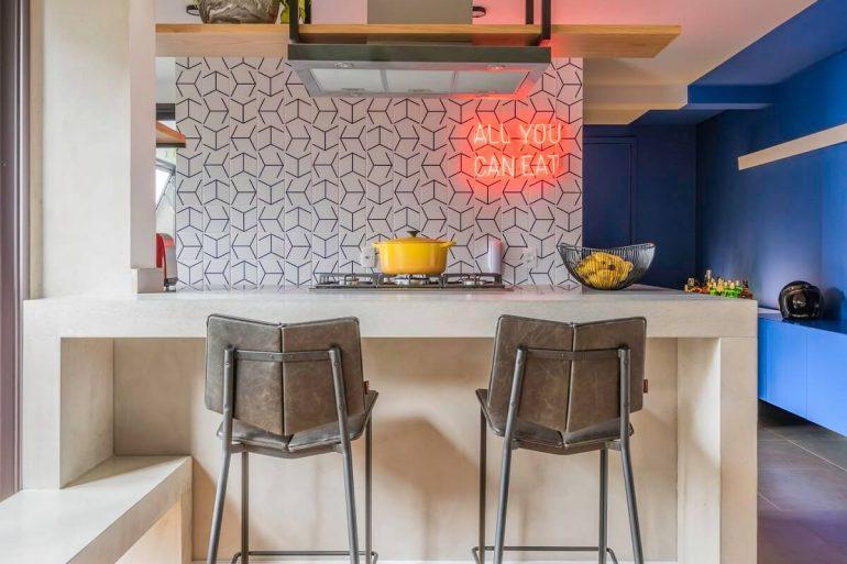 banquetas para cozinha americana casa vogue capa