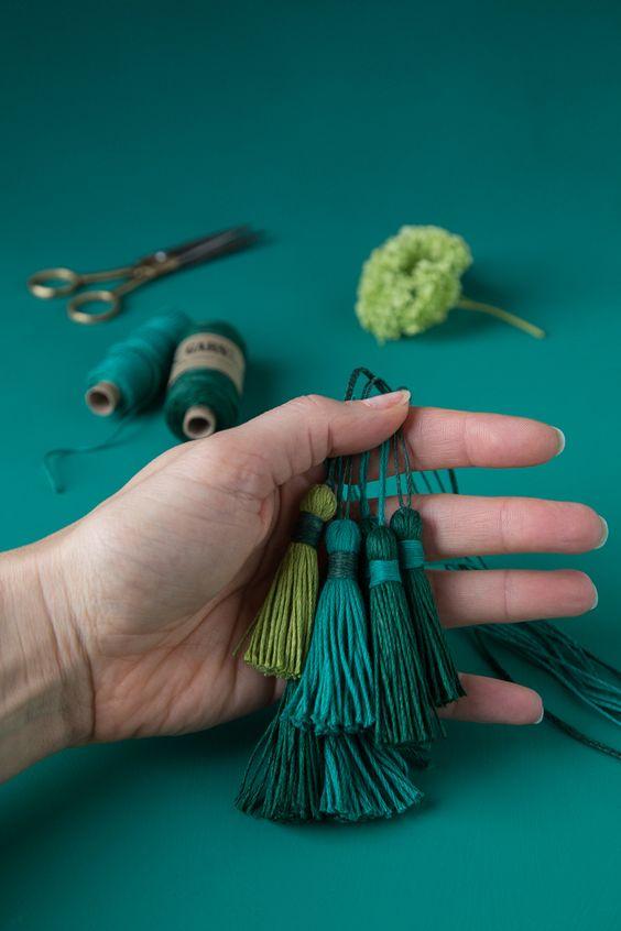 Como fazer prendedor de cortina criativo e diferente