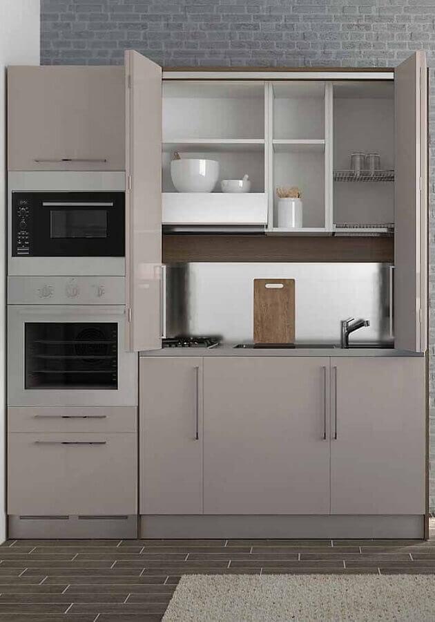 cozinha modulada pequena Foto Archilovers