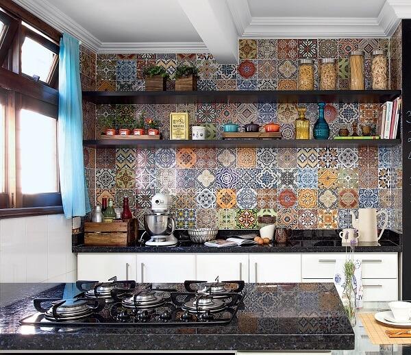 cozinha vintage adesivo estampado