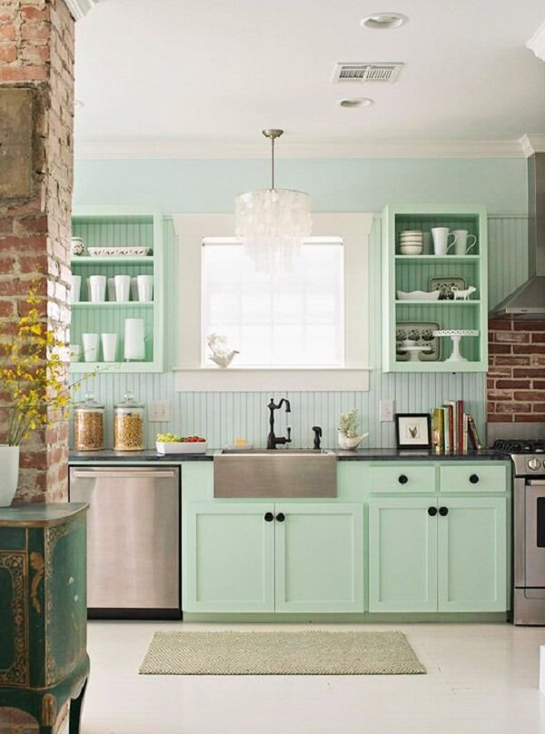 cozinha vintage candy color