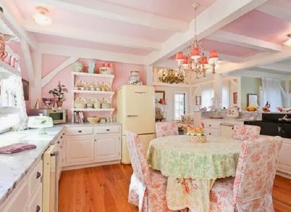cozinha vintage florida
