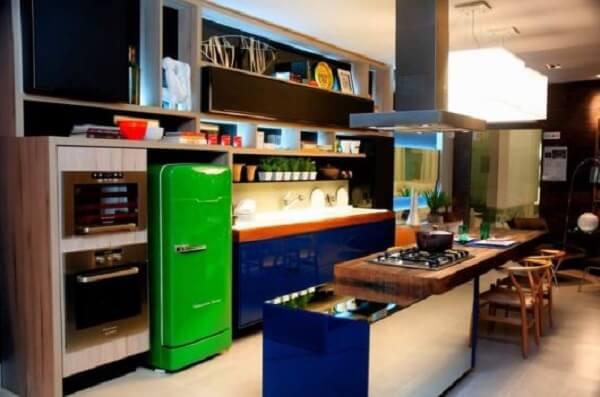 cozinha vintage moderna