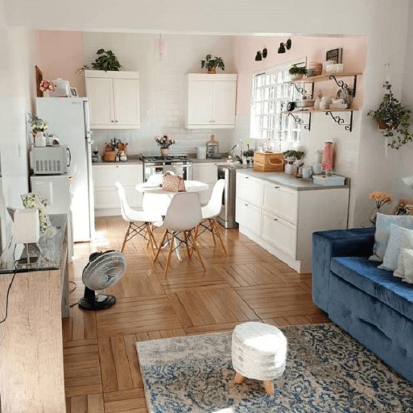 cozinha vintage pequena