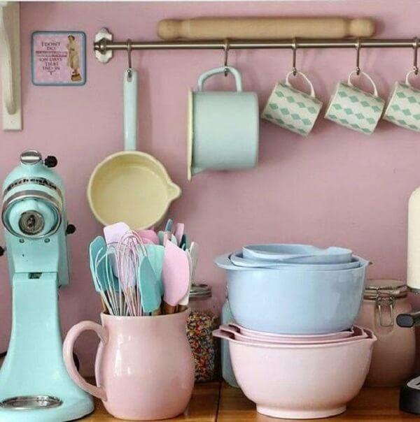 cozinha vintage utensílios de cozinha