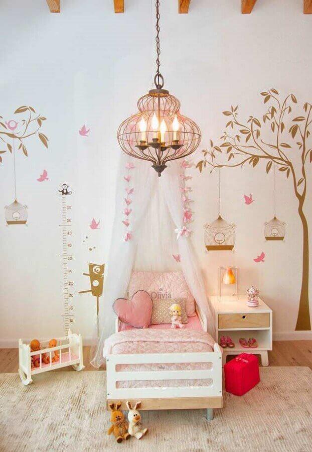 decoração lúdica para quarto de menina Foto Ideias Decor