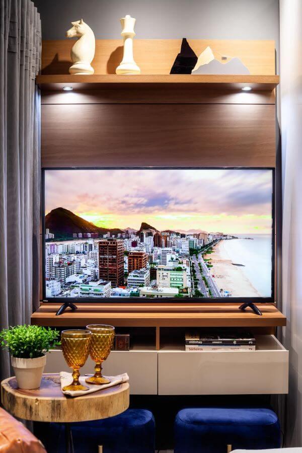 Painel para tv pequeno