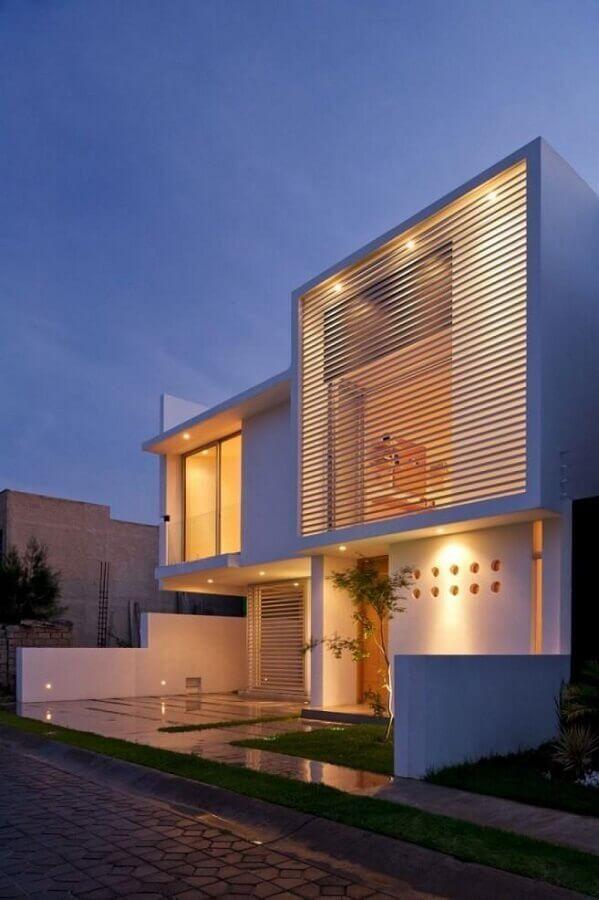 fachada de casas minimalistas Foto Pinterest
