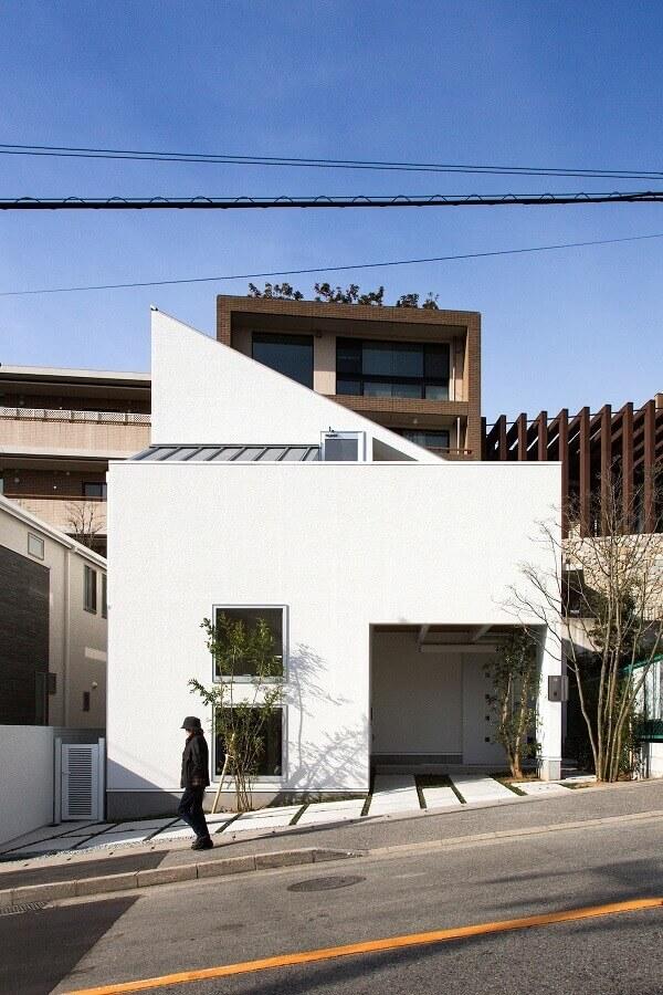 fachada de casas minimalistas pequenas Foto Ideias Decor