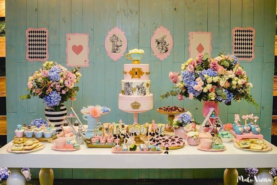 Alice party in Wonderland simple Photo Pinterest