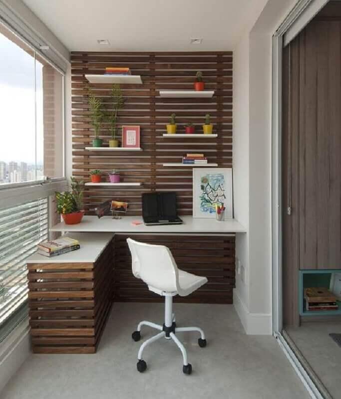 ideias de escritório em casa Foto Jeito de Casa